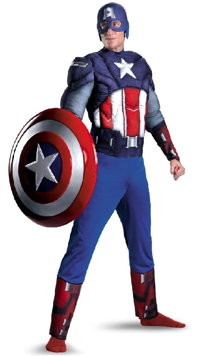 Captain America Costume for Halloween Party ...