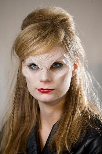 Homemade Beast FX Makeup For Halloween - Halloweenonearth.com