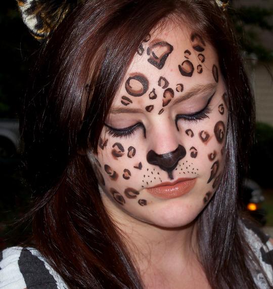 halloween homemade face makeup
