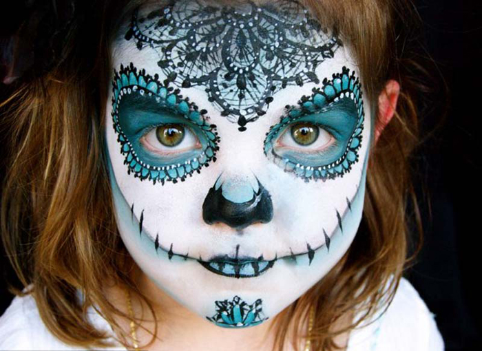 Non-toxic Homemade Face Paint For Halloween - Halloweenonearth.com