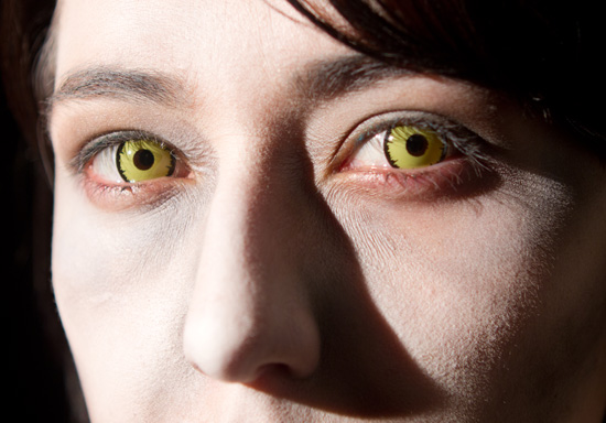 Zombie Contacts For Halloween